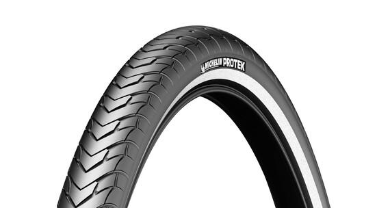 "Michelin Protek - Cubierta de Trekking - 28"" con reflectantes"
